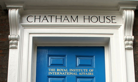 Chatham House Royal Institute of international affairs